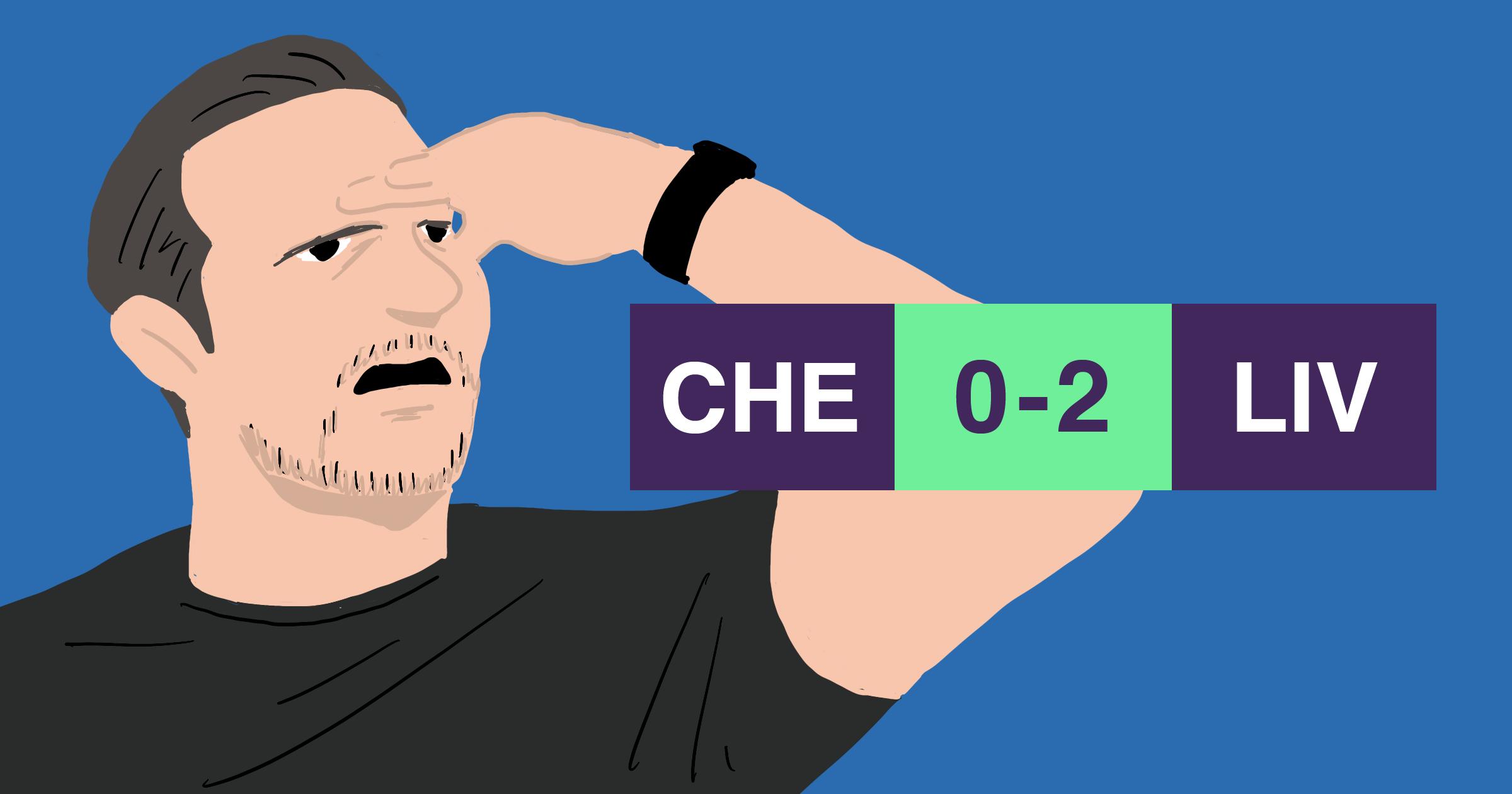 チェルシー リヴァプール戦 ランパード