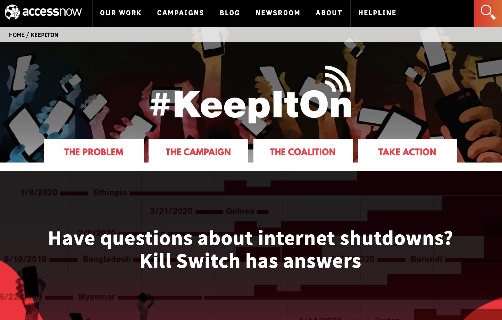 ネット遮断 KeepItOn 1